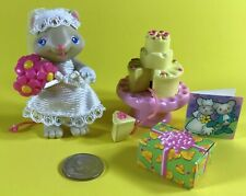 FISHER PRICE HIDEAWAY HOLLOW DOLLHOUSE JULIET THE MOUSE FIGURE WEDDING DOLL LOT