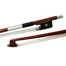 High Quality 4/4 Violin Bow A Grade Pernambuco Wood Stick Silver Parts/Wrap