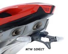 MV Agusta F4 2013-2017 R&G Racing black tail tidy licence plate holder bracket