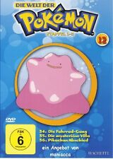 DIE WELT DER POKEMON 12   1. Staffel / 34-36    DVD #ZZ   Pokémon - wie NEU