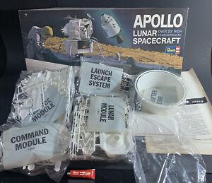 VTG 1967 Revell APOLLO LUNAR SPACECRAFT Model Kit H-1838:600 1/48 Scale