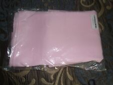 """1 Dozen 20"""" Pink Cloth Dinner Table Napkins for Weddings Polyester Fabric"""