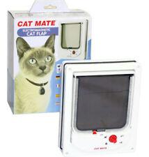 Chatière électronique en plastique pour chat