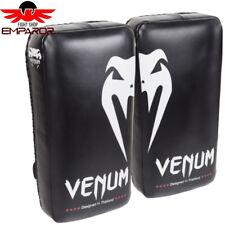 Venum Giant Kick Pad schwarz weiß Kickboxen Kampfsport Ep6.0341
