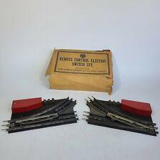 Louis Marx & Co. Remote Control Electric Switch Set Vintage