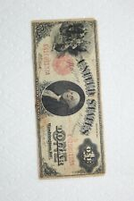 USA Banknote, 1 Dollar from 1917 red seal