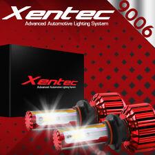 2x 9006 240W LED Headlight 24000LM Car White Beam 6000K Fog Bulbs Kit 4 Sides