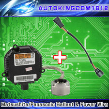 OEM Panasonic HID D2S D2R Ballasts & Power Adapter Wires For Nissan Infiniti