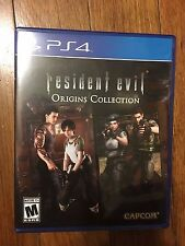 Resident Evil Origins Collection (Sony PlayStation 4, 2016)USED