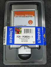 Kingston FCR-PCM2/4-1 PC CARD TYPE II SD MMC SM MS READER NS