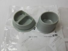 OEM YAMAHA YZ 125 250 250F 450F WR SWINGARM BOLT COVERS RUBBER CAPS 250X 2005 +