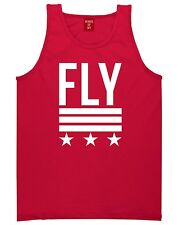Kings of NY FLY Tank Top T-Shirt Stars Stripes Army Captain Navy Military Jersey