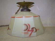 Antique kitchen light very nice Art Deco ceiling lamp 30s 40s spray pattern