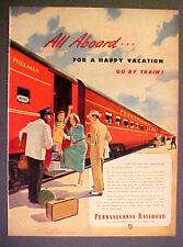 1949 Pennsylvania Railroad~Train Black Porter 10 1/2 x 14 LG~Size Collectible Ad