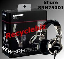 Shure SRH750DJ NEW IN BOX Professional DJ Headphones IN STOCK Free Shipping