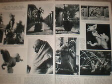 Photo article the art of Sweden sculptor Carl Milles 1932