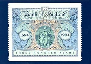16 APRIL 1996 BANK OF ENGLAND LABEL PHQ CARD D9 MINT
