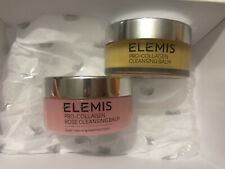 ELEMIS PRO-COLLAGEN  DUO GIFT SET CLEANSING BALM 105g X 2.Original & Rose Rrp£88