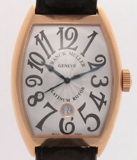 AUTHENTIC FRANCK MULLER REF. 8880 SC DT 18K ROSE GOLD XL JUMBO DIAL