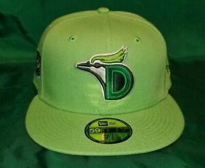 My Fitteds Exclusive DoubleMint Gum Duredin Blue Jays Patch Green UV Hat 7 1/4