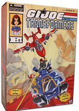 G.I.Joe Transformers Autobot Powerglide vs Soundwave Crossover Set