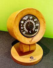 Bumar Design Thermometer Holz Naturholz Echtholz  Selten Militär Panzer Wood