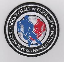 Hockey Hall of Fame Induction Patch Pittsburgh penguins Toronto Maple Leafs 2014