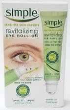 Simple Sensitive Skin Revitalizing Eye Roll On Cools & Refreshes 0.5 fl NEW