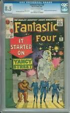 Fantastic Four # 29  It Started on Yancy Street !  CGC 8.5 scarce book !