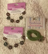 Fashion Accessories Jewelry Crafting Metal Accents