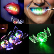 1PC Halloween Party Bar LED Light up Flashing Mouth Piece Glow Teeth