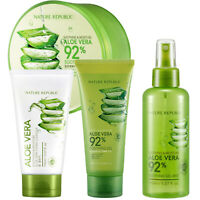 Nature Republic Soothing & Moisture Aloe Vera Soothing (Gel/Mist/Cleanser)