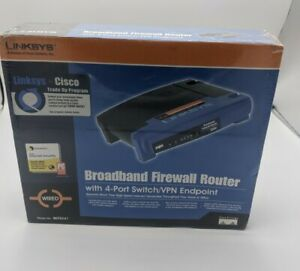 Broadband Firewall Router With 4-Port Switch/VPN Endpoint Linksys