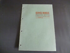 Original Service Manual Akai Stereo Tape Recorder 1721 W