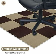 """Home Office Chair Mat Carpet Squares for Hard Floor Floor Protector 60""""x48"""""""
