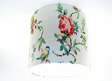Lampshade Handmade with Cath Kidston Birds & Roses White Wallpaper 20cm FREE P&P