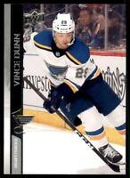 2020-21 UD Series 2 Base French #404 Vince Dunn - St. Louis Blues