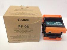 Canon PF-03  print head unclogged - refurbished - repair.