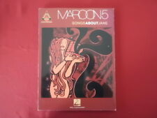 Maroon 5 - Songs about Jane . Songbook Notenbuch Vocal Guitar
