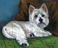 WESTIE WAKE UP GARDEN FLAG FREE SHIP USA RESCUE
