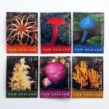 New Zeland Mushrooms 6 post stamps