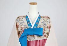 "Hanbok Korean Traditional Costume Dress Set Women 한복 M-size 5'4"" (162cm) 63040"