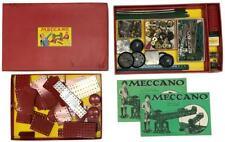 Vintage MECCANO No 7 Erector Set Outfit Building Model Construction Toy Orig Box