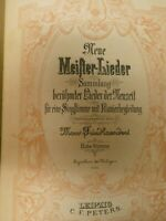 Edition Peters Neue Meister Lieder 2750a Noten Klavier B-25041