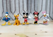 Disney Mickey Mouse Collectible Figure Set Donald Pluto Mickey Minnie Daisy