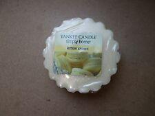 YANKEE Candle USA RARO Limone Crema Cera Tart