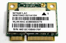 W704E1-A1 RTL8188EE WIRELESS 1 ANTENNA MINI WI-FI ADAPTER CARD WW704E1521A10H!!!