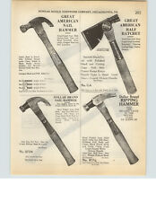 1927 PAPER AD Great American Dollar Brand Flyer Axe Supplee Biddle