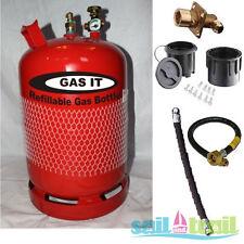 Premium Simple 6Kg Rechargeable LPG Kit Cylindre - Externe Point De Remplissage