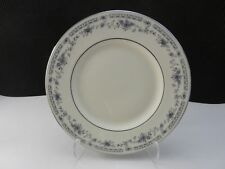 "Minton Bone China Bellemeade Salad Plate Ivory Platinum Trim 8"" D ca 1997-1998"